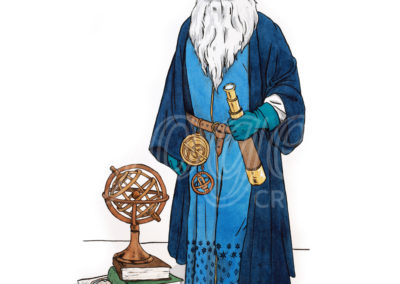 Illustration Astronome