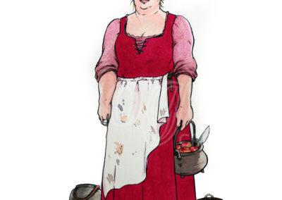 illustration Gouvernante